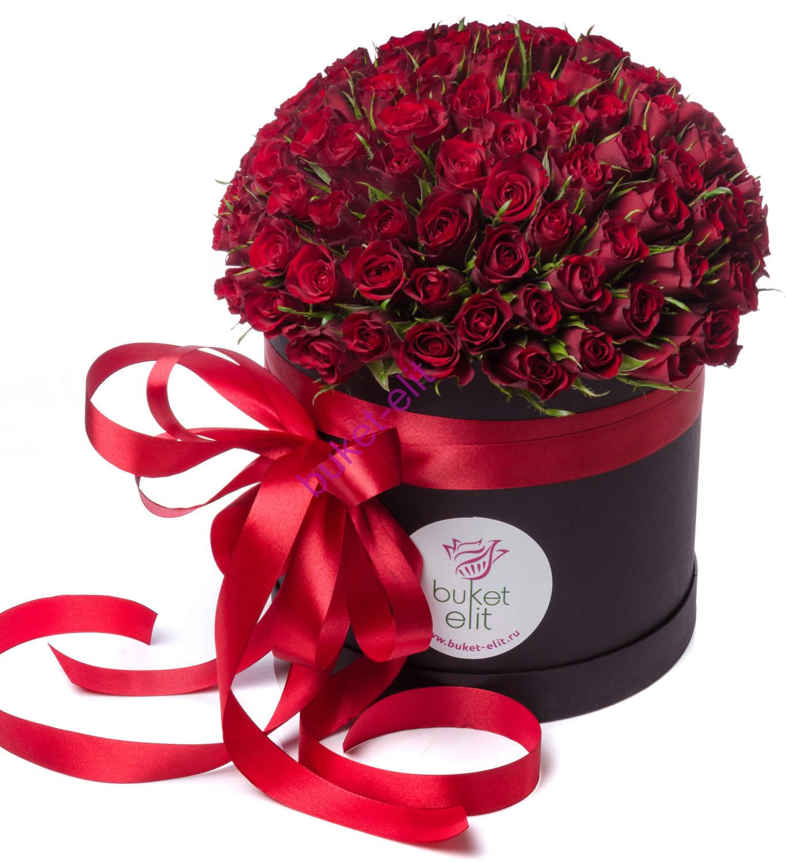 Розы в шляпной коробке №2
